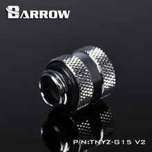 BARROW (Extend 15mm) Fitting G1/4'' M to F Extend Connect Adapter Male to Female Increase 15mm Length Connector Cooling System недорого