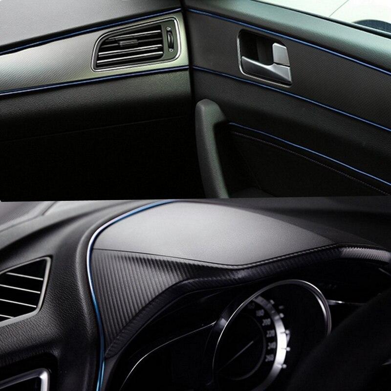 5M Car interior Decorative Sticker Interior Mouldings Trim Strip Insert Type Plating Decoration Strip DIY Stickers Car-Stylying (4)
