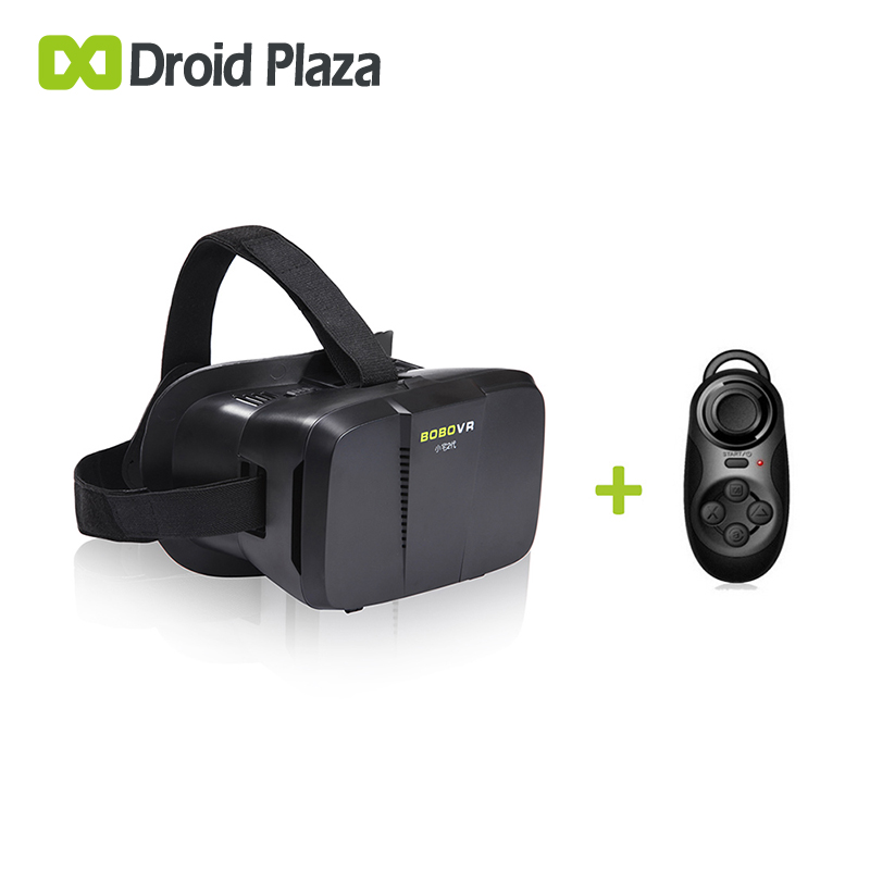 BOBOVR Z2 3D Virtual Reality <font><b>Glasses</b></font> + Bluetooth Gamepad Controller <font><b>Xiaozhai</b></font> <font><b>II</b></font> <font><b>VR</b></font> Box Google Cardboard for Smartphone