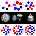 Full Spectrum 15W 21W 27W 36W 45W 54W Red+Blue+IR +UV +White LED grow light Horticulture for Garden Flower Plant Hydroponics