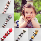 5pcs/pack Bow Flower Hair Clips for Girls Hair Barrettes Hairbows Fashion Hairpins Baby Girl Hair Accessories Kids
