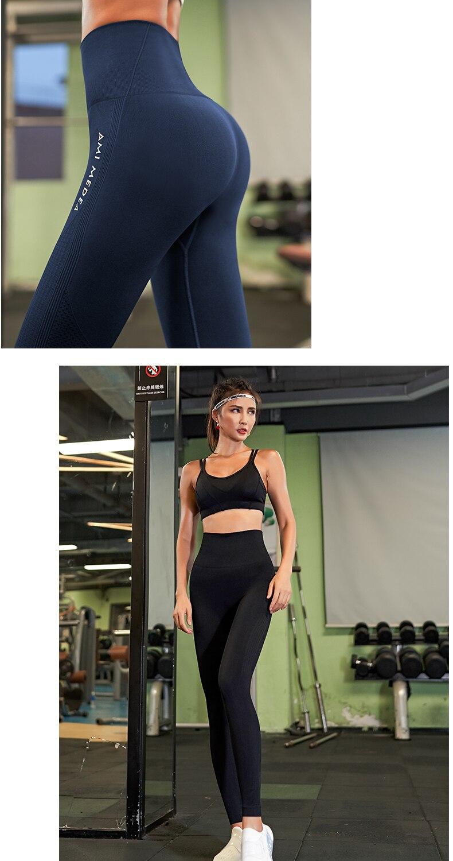 barriga controle yoga pant cintura alta esporte
