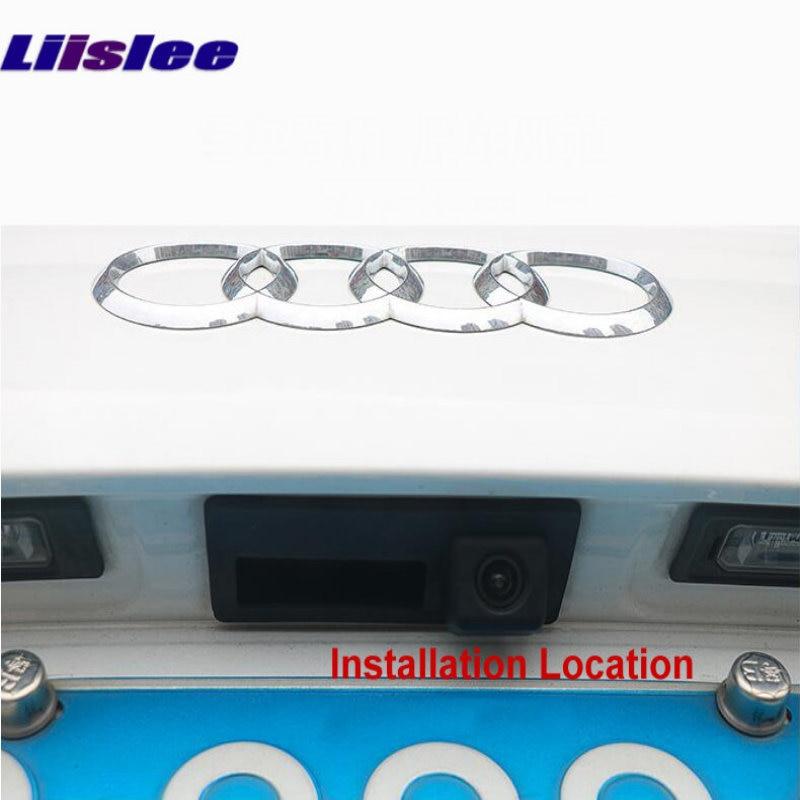 Liislee For Audi Q3 2010~2018 Front Rear View Reversing Camera Original screen upgrade Interface Adapter backup Camera Decoder 8