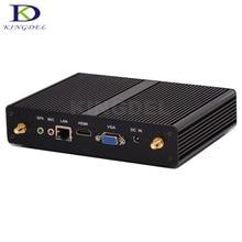 Гарантия 3 года безвентиляторный мини настольных ПК Intel Celeron 3205U 3215U HTPC USB 3.0 HDMI VGA 1000 м локальной сети Wi-Fi