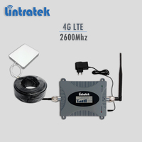 Lintratek 4g Booster 2600Mhz LTE Celullar Signal Repeater 2600 Cellphone Signal Amplifier 65 DBi With LCD