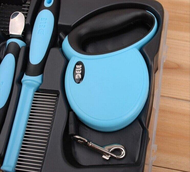 Ножницы и расческа набор инструментов для ухода за домашними животными для собак кошек щенков B0730A продукт - 4