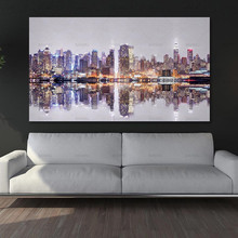 Canvas Painting Decoration Pictures Poster Picture for Living Room City Print Wall Art Landscape Paint Unframed the morning of city london new york vintage poster art canvas painting wall picture print modern home room decoration unframed