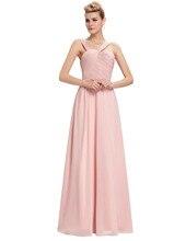 Vestido de festa Abendkleider 2016 Neu Kommen Rosa Rüschen mieder Unregelmäßige Neck bidemaids kleid Kleider Für Besondere Anlässe
