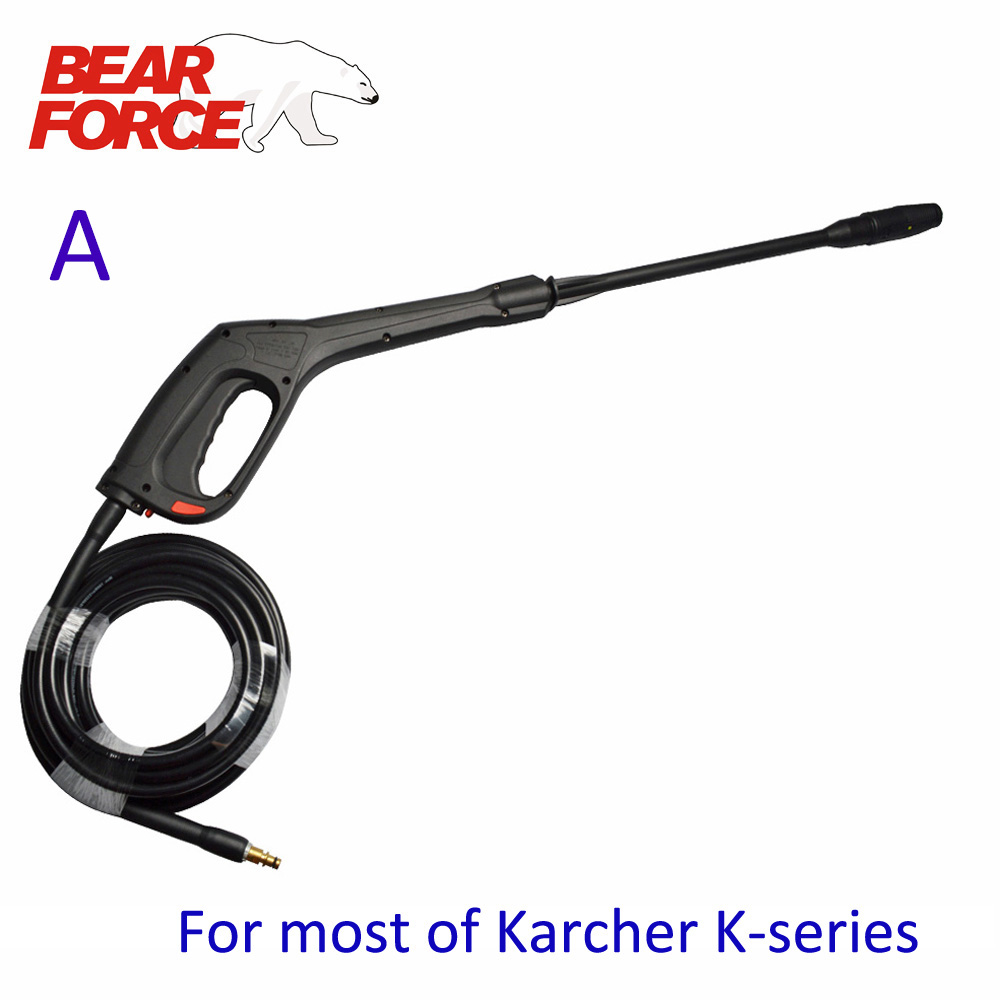 Water Gun Pistol Hose  For Karcher Champion AR Patriot Hammer Flex Denzel Lavor Bosche Black Decker Vax High Pressure Washers