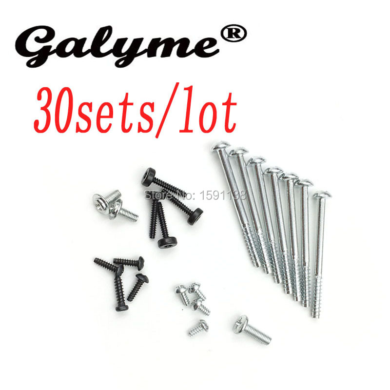 30Sets/lot Hot Sale Silver Fit For PS3 Slim 2000 3000