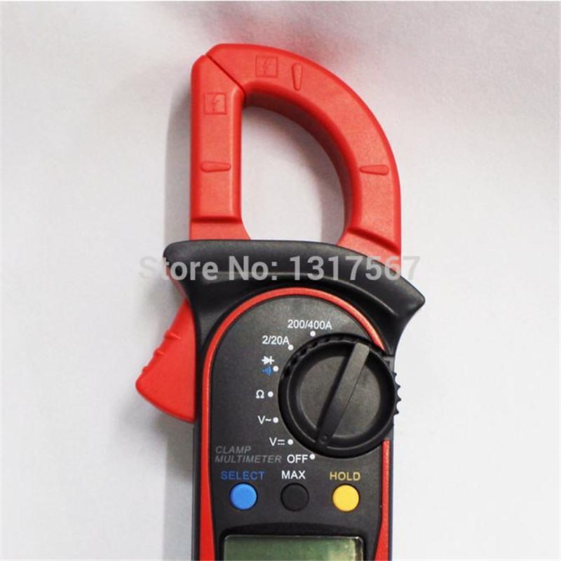 UNI-T UT 201 LCD Digital Clamp Multimeter Ohm DMM DC AC  Voltmeter FREE SHIPPING multimeter digital professional UT201