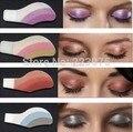 Caliente Elegante Instante Mágico de Sombra de Ojos Cosméticos Ojos Pegatinas Tatuajes Temporales Forman las Hojas 30 Colores 6 par/lote