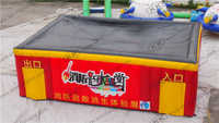 music club custom inflatable fire drill tent price