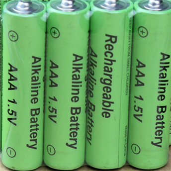 4pc free shipping1.5V AA rechargeable Alkaline battery 14500 + 10440 1.5V AAA Alkaline rechargeable batteries
