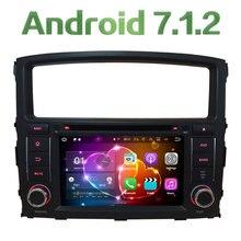 "7 ""Android 7.1 4 ядра 2 ГБ Оперативная память 3G/4 г Wi-Fi dab SWC dvd-плеер Радио GPS NAVI Стерео для Mitsubishi Pajero V97 V93 2006-16"