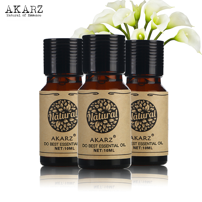 Ylang Ylang Violet Clove Essential Oil AKARZ Famous Brand For Aromatherapy Massage Spa Bath Skin Face Care 10ml*3