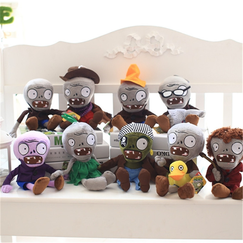 Fashion Games Plants vs Zombies Plush Toys 9 Styles Zombies Toys Doll for Kids Gifts Party Toys Holiday gift for your kid