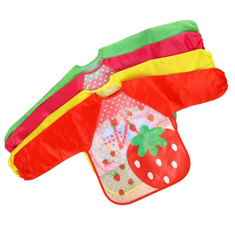 Детские нагрудники детские отрыжки ткани шарф для малышей Кормление халат с длинным рукавом непромокаемое покрытие детские животные аксессуары для кормления младенцев