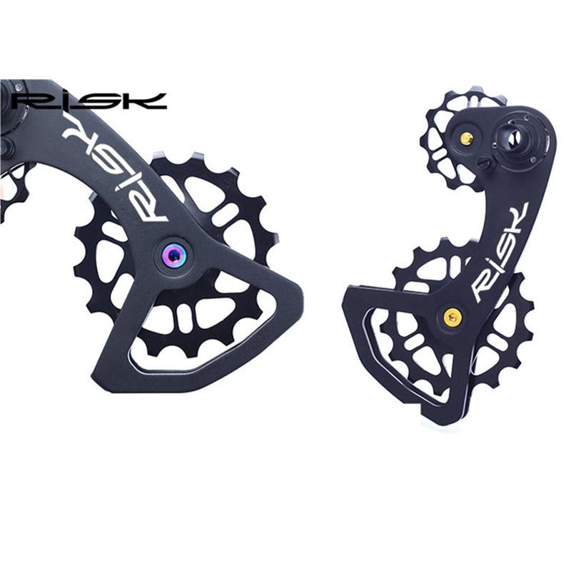 M5 * 14.2 RISK Bicycle Titanium Aloyy Guide Wheel Bolts - Հեծանվավազք - Լուսանկար 5