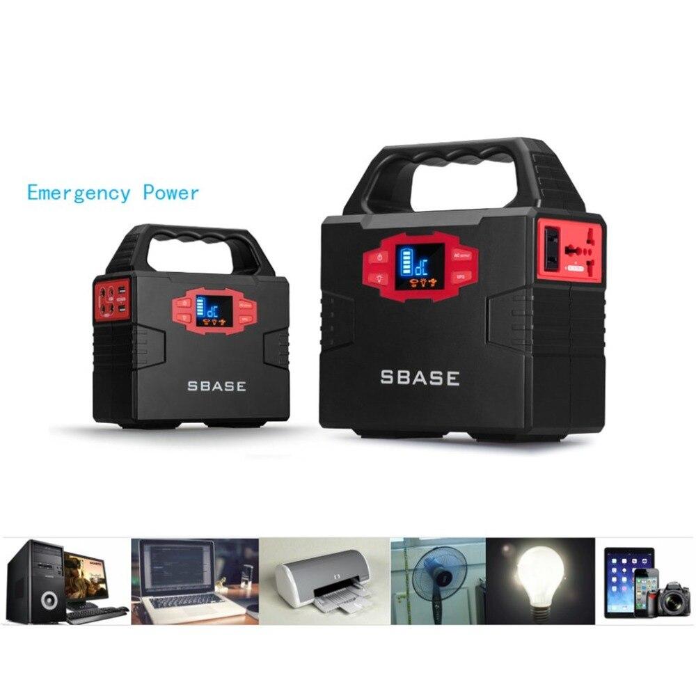 Chargeur portatif de secours automatique de voiture du générateur solaire 40800mA de centrale électrique portative d'utilisation à la maison avec l'affichage et la poignée