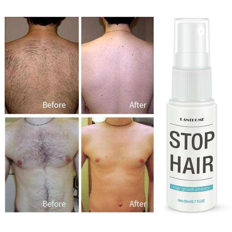 Hair Growth Inhibitory Stop Hair Growth Inhibitor Pubic Skin Repair Smooth Body Hair Removal Treatment Mild Spray Hair Remover