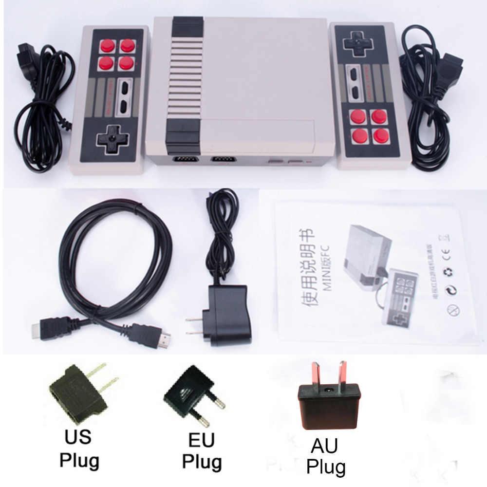 Dropshipping HDMI/AV çıkışı Mini TV el Retro video oyunu konsolu klasik 500 oyunları dahili 4K TV için PAL & NTSC
