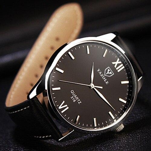 Men Wrist Watches 2017 Top Brand Luxury Famous Yazole Wristwatch Male Clock Quartz Watch Hodinky Quartz-watch Relogio Masculino men watches top brand luxury famous male
