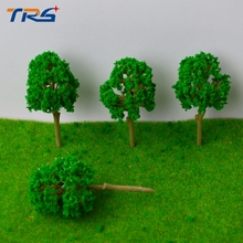 100pcs  Architectural model making 7CM Trees Model for Railroad Layout Landscape Scenery Diorama Miniatures