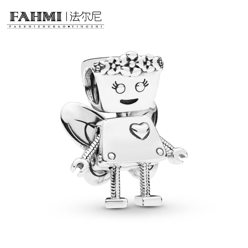 FAHMI 100% 925 Sterling Silver New 2019 Spring 797856 Limited Edition Floral Fit DIY Bot Charm Bracelet Exquisite Free ShippingFAHMI 100% 925 Sterling Silver New 2019 Spring 797856 Limited Edition Floral Fit DIY Bot Charm Bracelet Exquisite Free Shipping