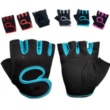 Спортивные Нескользящие перчатки на полпальца для мужчин и женщин