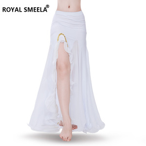 Image 4 - Women Hot Sale Gorgeous Belly dance skirt Sexy belly dancing skirt belly dance costumes bellydance clothes performance wear 6014