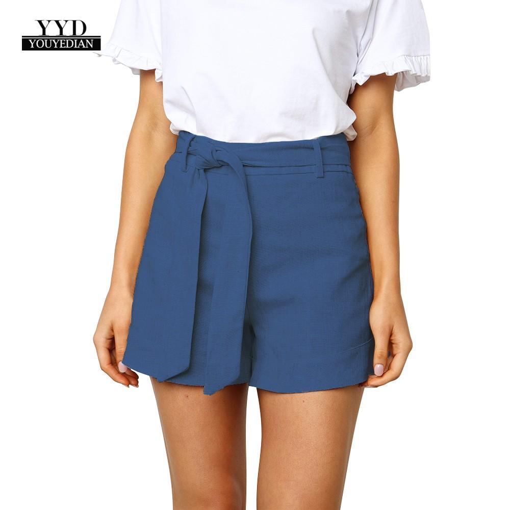 Frauen Und Kinder Youyedian Sommer Frauen Shorts Lose Feste Farbe Waschen Baumwolle Shorts Mode Frauen Sexy Strap Casual # W30 Geeignet FüR MäNner Gepäck & Taschen