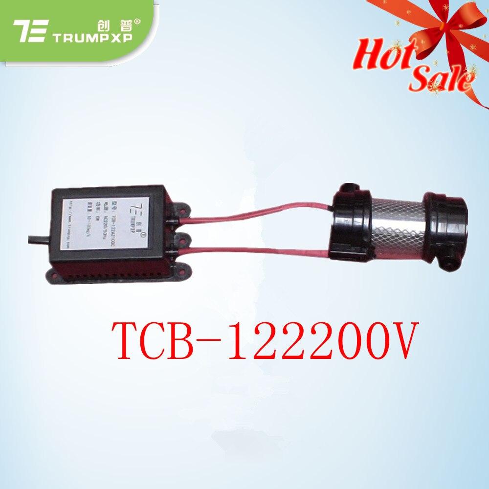 10 unids/lote 200 mg/hr TCB-122200V ambientador purifer aire generador de ozono para eliminar el mal olor del aire para el aparato electrodoméstico larga vida