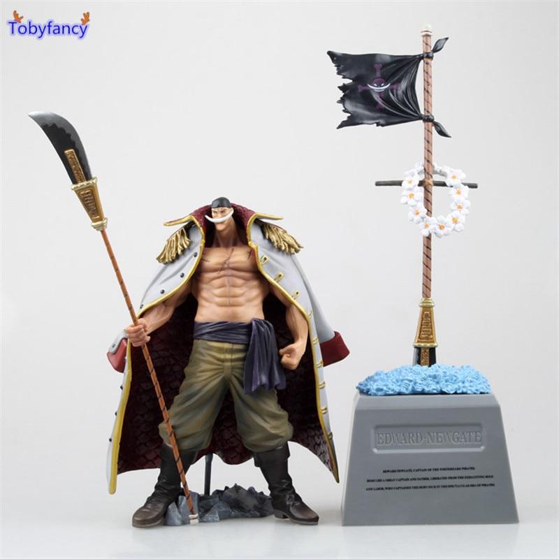 Tobyfancy One Piece Action Figure Edward Newgate PVC 20CM Onepiece Special DXF Anime Figure Toys Japanese Anime Figures