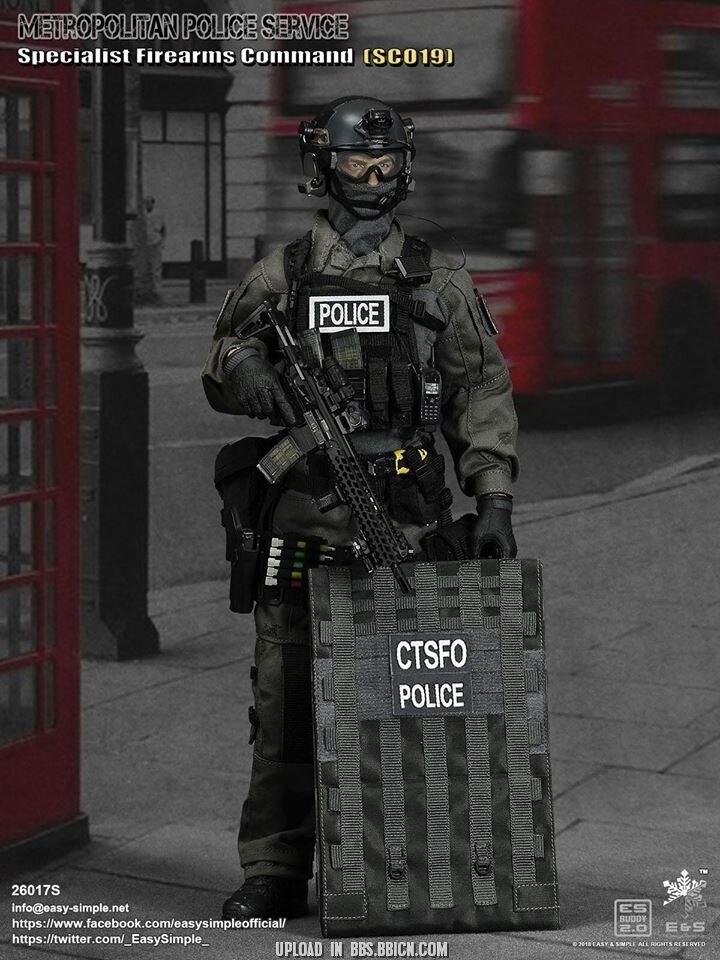 Easy/&Simple ES 26017 1:6 British Specialist SHIELDMAN Command SCO19  Figure