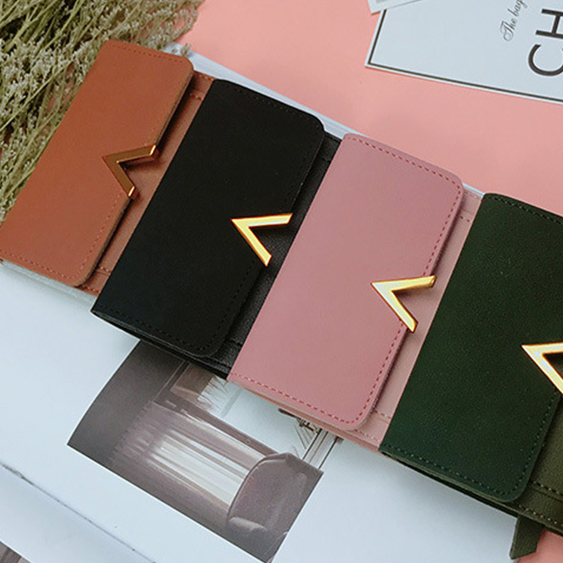 Matte Leather Small Swallet Women 2018 Fashion Ladies Wallet Small Short Female Handbag Coin Purse Credit Card Holder Money Bag fashion cartoon cute mini women wallet female short money purse girl coin credit card holder ladies leather wallet change purse