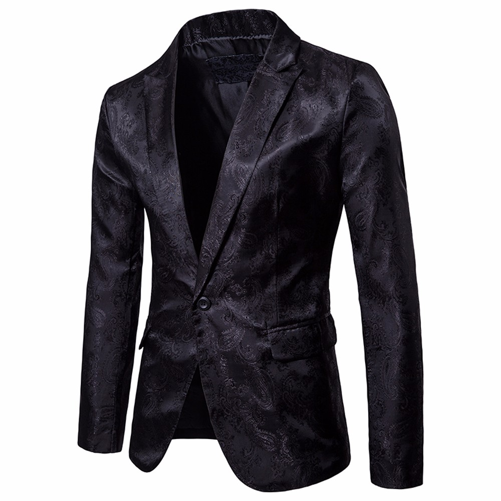 Charm mannen Casual Een Knop Fit Suit Blazer Coat Tops Blazer Jasje Tops Slim Fit Geul Plus Size mannen 2018 Overjas #30