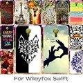 22 de silicone ou plástico mobile phone case capa para wileyfox Swift 2X50 Swift2 Mais Tampa Traseira Anti-knock Shell Pintado habitação