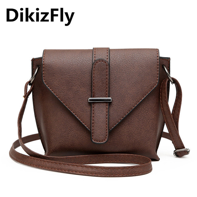 cde39bed57bd DikizFly Fashion Small Flap Handbag Triangle Cover Crossbody Bags Women  Shoulder Bag For Women 2018 Causel