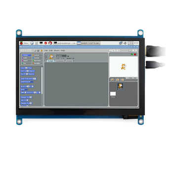 Waveshare 7 inch HDMI LCD (H) Computer Monitor 1024*600 IPS Capacitive Touch Screen Supports Raspberry Pi Jetson Nano Win10  etc - DISCOUNT ITEM  11% OFF All Category