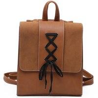Neue Entworfen Marke Urban Rucksack Bänder Große Kapazität Frauen Rucksack Qualität Mode Mädchen Schultasche Umhängetaschen
