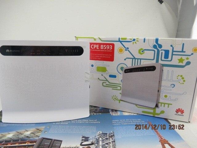 Huawei B593 LTE CPE 4 G Router con ranura de la tarjeta SIM B593s-22
