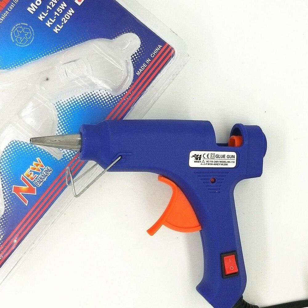 100–240 V kuumsulamliimipüstol 20W EU Plus koos 7 mm pulgadega - Elektrilised tööriistad - Foto 6