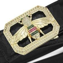 2019 High Quality full grain leather genuine belts men fashion luxury brand Cowskin Waist Strap Casual cintos masculinos