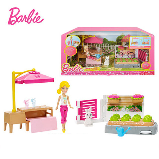Barbie Originais Hair Feature Puppenhaus Färbung Aktivität American ...