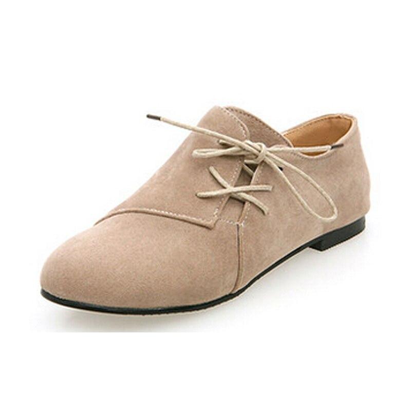 Bahar Yeni Kadın Ayak Bileği Çizmeler Düz Topuklu kadınlar nedensel flats ayakkabı üzerinde kayma 6A22