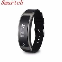 Smartch Спорт I8 Bluetooth Smart Браслет крови Давление трекер монитор сердечного ритма часы браслет для iOS и Android