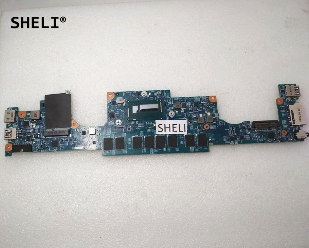SHELI For Dell 7437 Motherboard I3-4010U CN-0F6GDH 0F6GDH F6GDH sheli for dell 15z 5523 motherboard i5 3337u cn 0tvjw0 0tvjw0 tvjw0