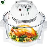 Airfryer Glass Pot 12 Litre Domestic Light Wave Oven Genuine Baking Air Stove Frying Pan Multi