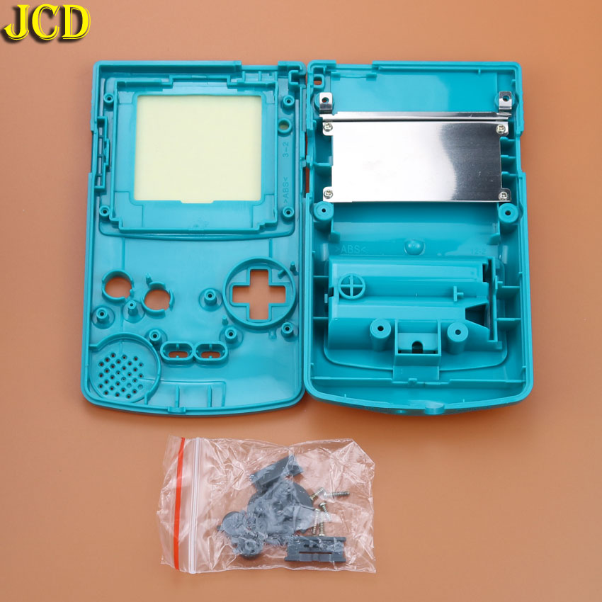 Image 4 - JCD 1pcs Housing Shell Cover for Nintend GameBoy Color for GBC Housing Case Pack-in Cases from Consumer Electronics